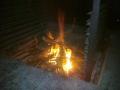 Večerní oheň