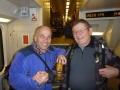 Ve vlaku se k nám připojuje nečekaný host Láďa alias Žalud.