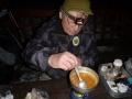 Žalud dle tradice večeří míchaná vajíčka