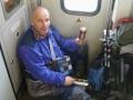 V přeplněném vlaku do Pardubic